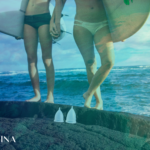 swimming and your period with Mahina Menstrual Cup